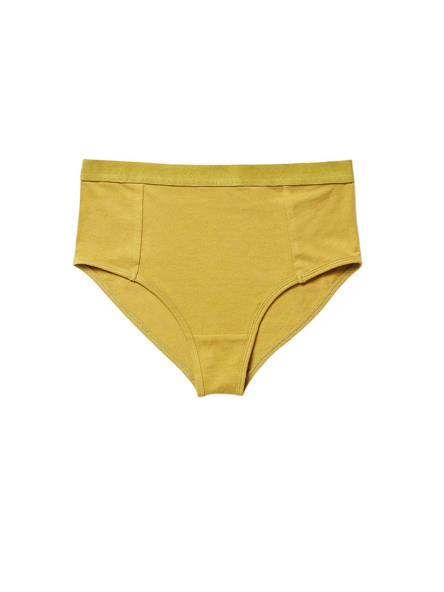 High Waist Brief - Golden Verde