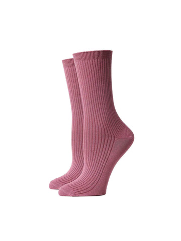 Nightingale Sock - Rebel Rose