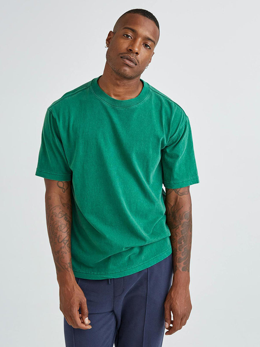 Men's Relaxed Short Sleeve Tee - Evergreen