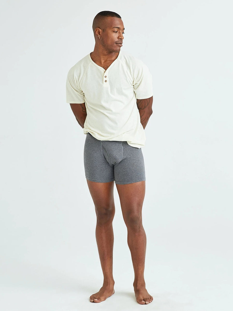 Smith Boxer Brief - Charcoal