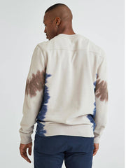 Men's Crewneck Sweatshirt - Tie Dye