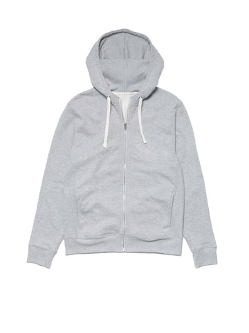 Zip Hoodie - Heather Grey