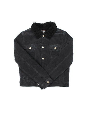 Sherpa Jacket - Black Cord