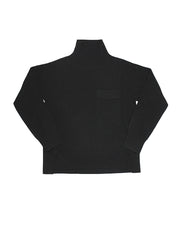 Pocket Turtleneck - Black