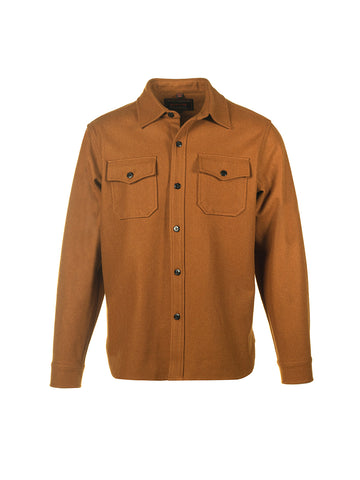 7810 Wool CPO Shirt - Coyote