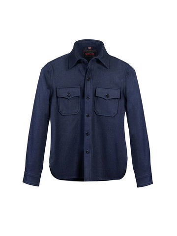 7910W Wool CPO Shirt - Blue