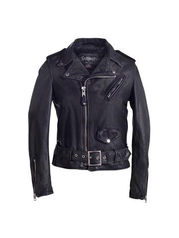 626VNW Vintaged Motorcycle Jacket - Black