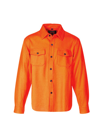 7810 Wool CPO Shirt - Orange