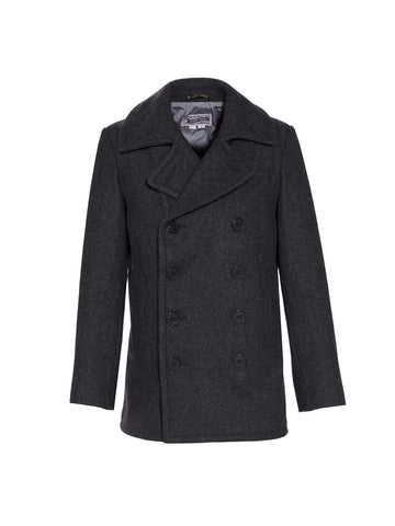Slim Fit Peacoat - Dark Oxford Gray