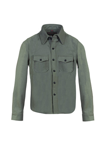 7910W Wool CPO Shirt - Sage