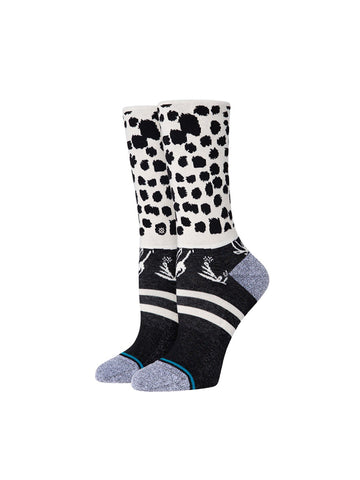 Running Wild Crew Sock - Black