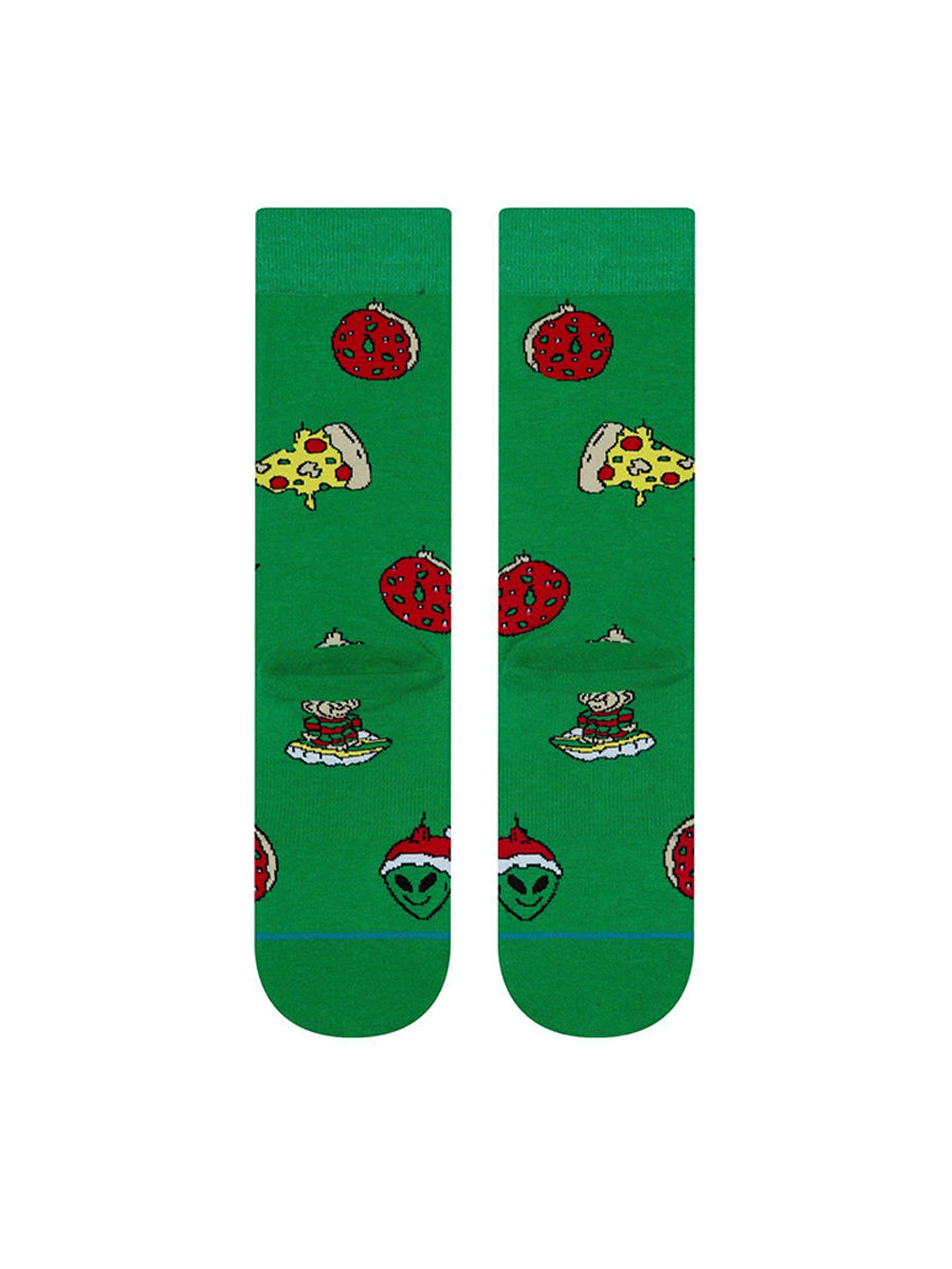X-Mas Ornaments Socks - Green