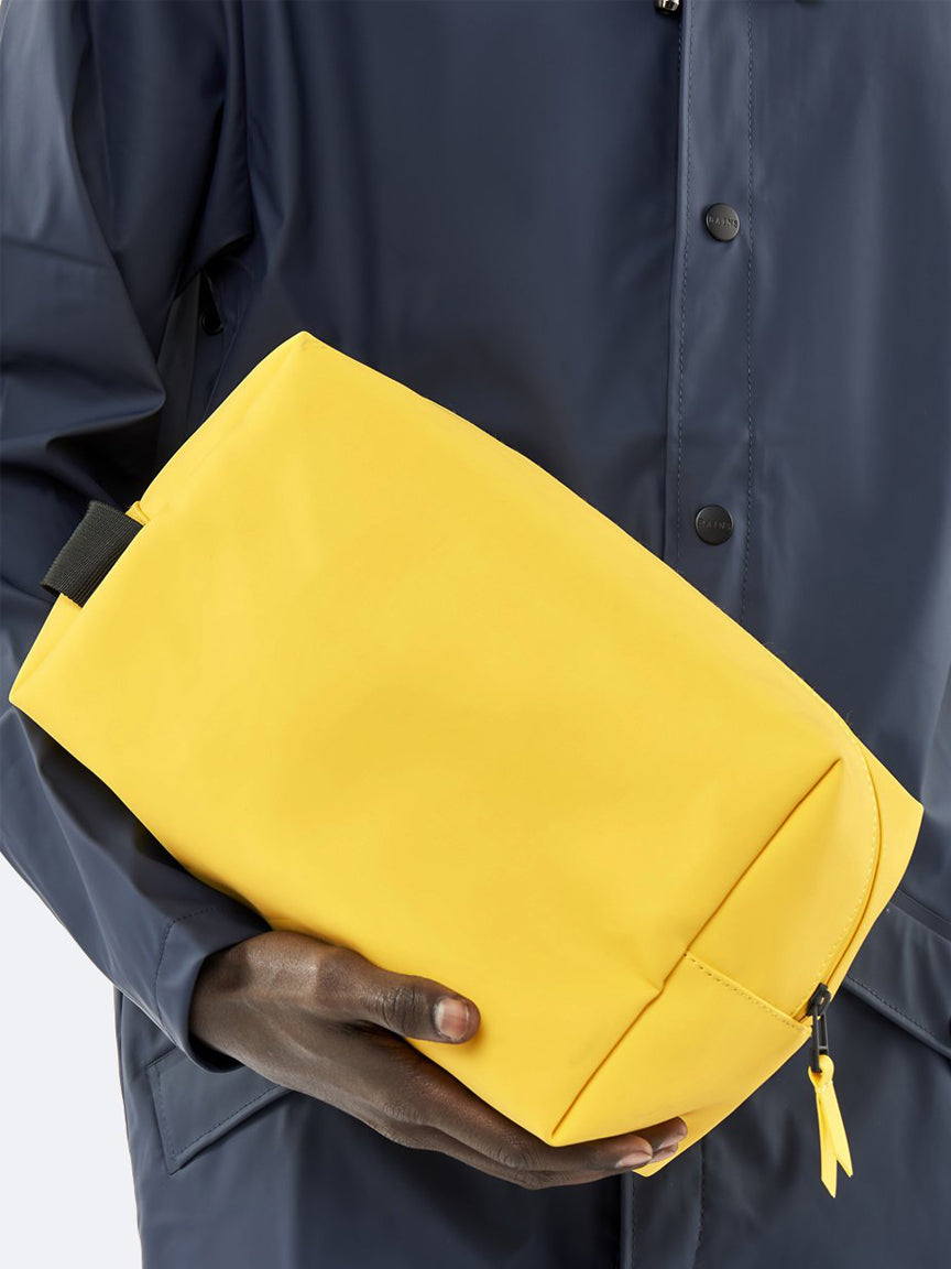 Wash Bag Large - Yellow
