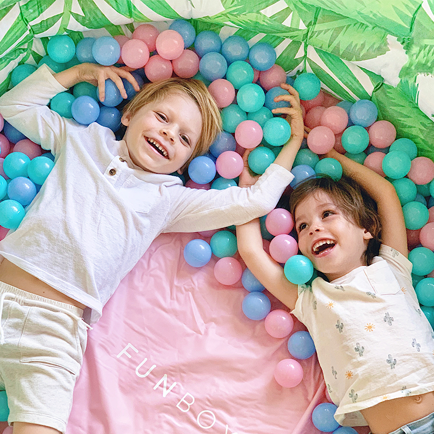 FUN at home activities for Kids | Ballpit