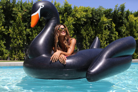 Inflatable Black Swan | Funboy