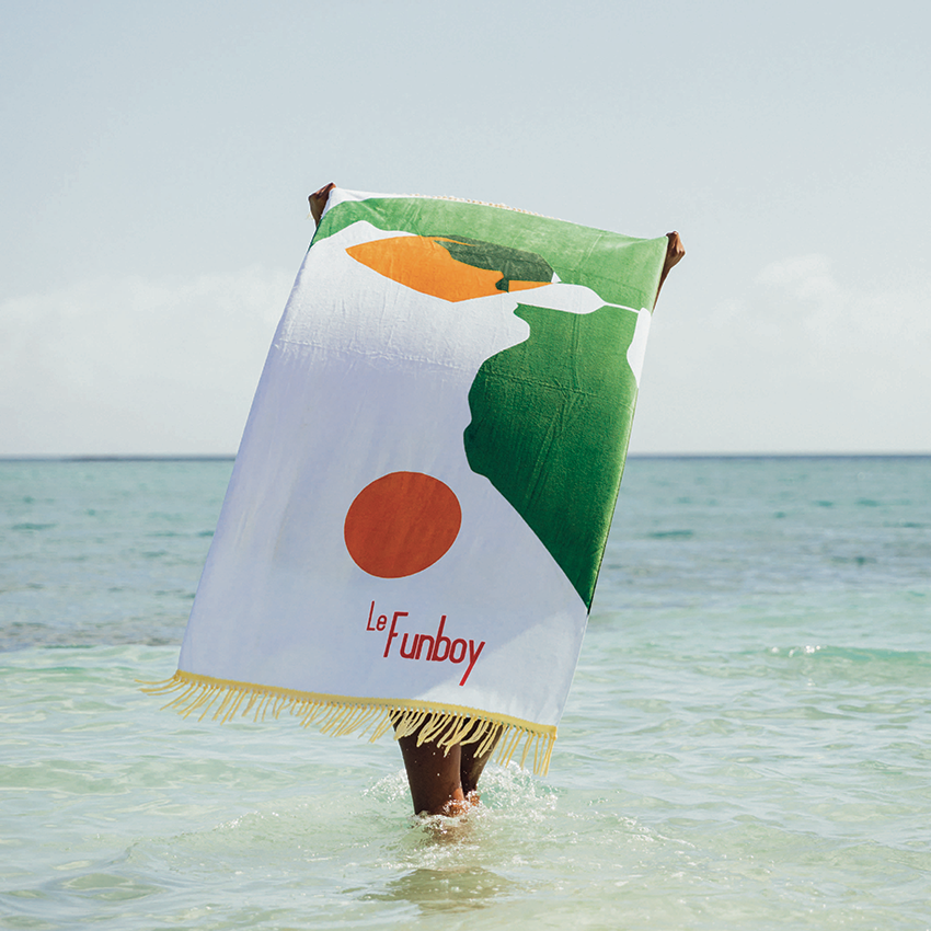 FUNBOY Beach Towels - Fringe