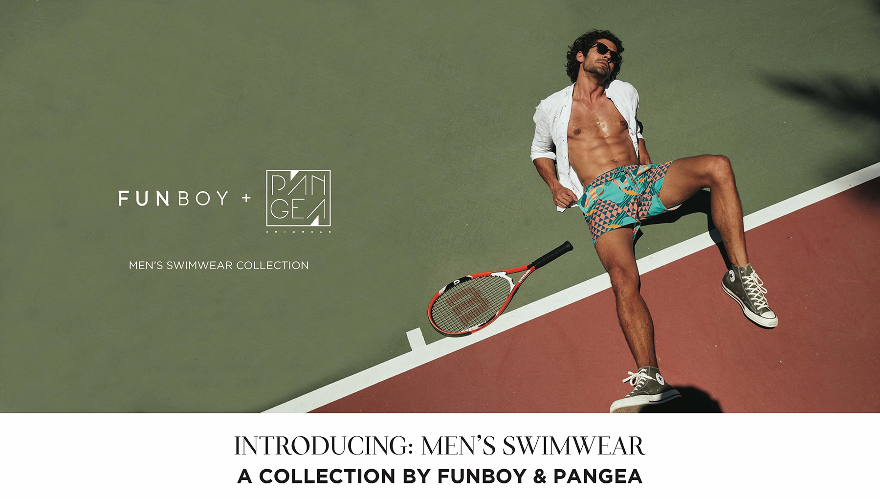 FUNBOY x Pangea Mens Swimwear Collection