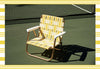 FUNBOY Retro Lawn Chair - Yellow and White