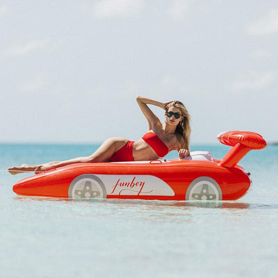 2019 Collection - Luxury Pool Floats - FUNBOY Red Sports Car Float