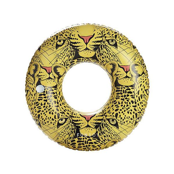 2019 Collection - Luxury Pool Floats - Leopard Tube Float