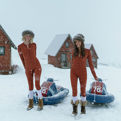 Complete the Look - FUNBOY Snow Sled + Matek Onsie