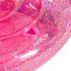 FUNBOY Glitter Pink Unicorn Pool Float - Cupholder