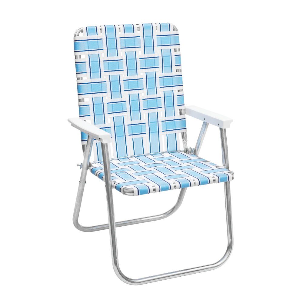 Retro Blue Lawn Chair | FUNBOY