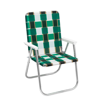 FUNBOY Retro Lawn Chair - Green/White