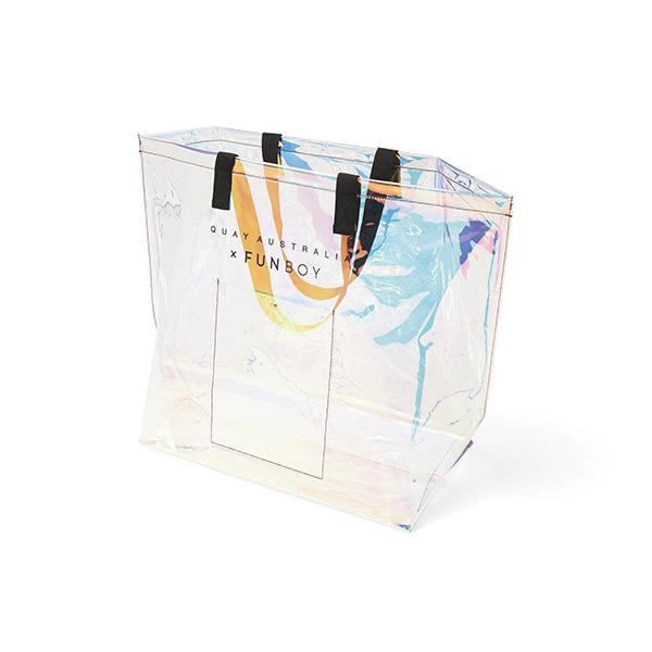 Quay X FUNBOY Iridescent Float Tote Bag