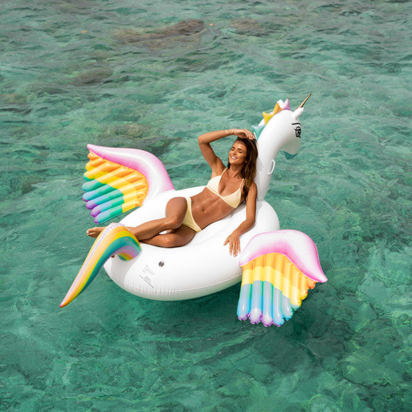 Rainbow Unicorn Float pool float by FUNBOY