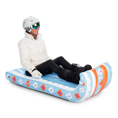 Inflatable Toboggan Snow Sled | FUNBOY