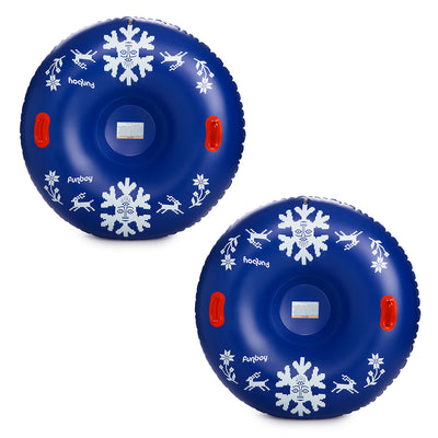 Inflatable Snow Tube | Snowflake (2 Pack)