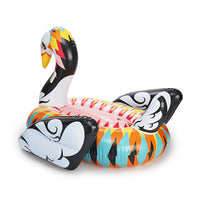 FUNBOY's Artist Collaboration giant swan float by Alex Yanes