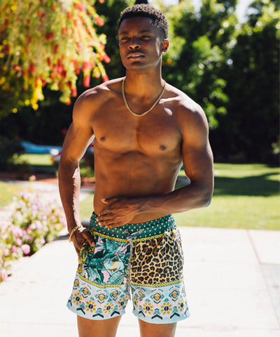 FUNBOY X Pangea Mens Swim Trunks: Animal House