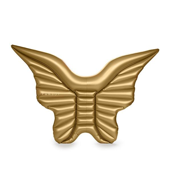 Metallic Gold Angel Wings