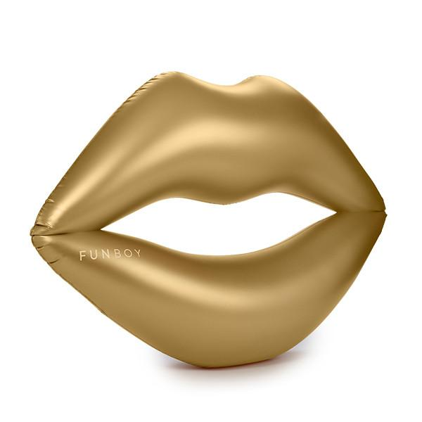 Metallic Gold Lip Float