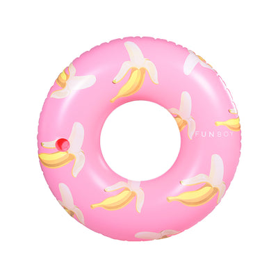 Pink Banana Tube Float