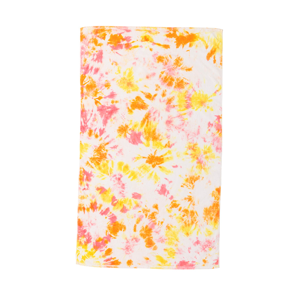 Sunset Tie-Dye Towel