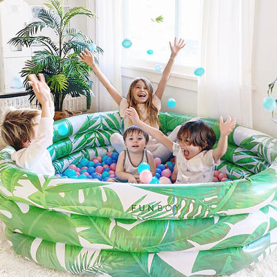 Tropical Palm Ball Pit