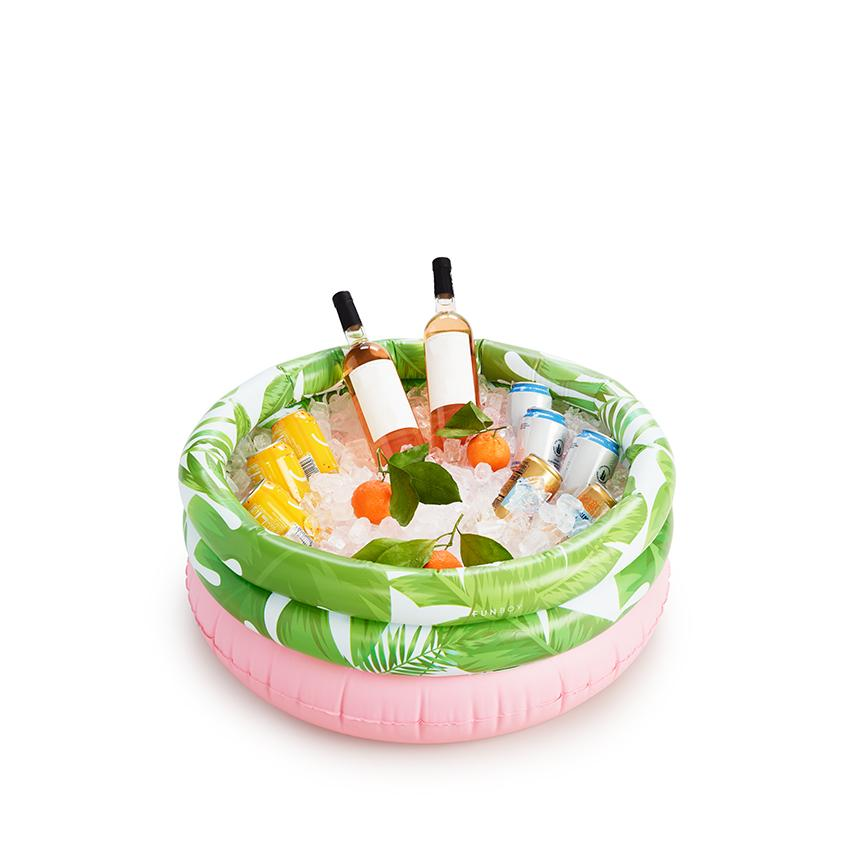 Tropical Palm Pool Drink Cooler