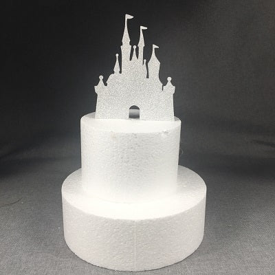 Pleasing Castle Cake Topper Partydelights Funny Birthday Cards Online Inifofree Goldxyz