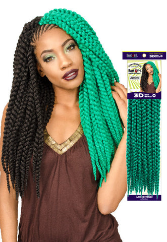 "3D BOX BRAID 18"" - RastAfri"