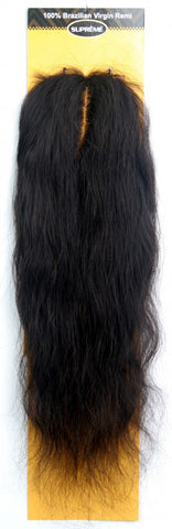 "[BRAZILIAN LACE CLOSURE: L SHAPE PART] NATURAL WAVE 12""-Pieces-Lynda's Hair"
