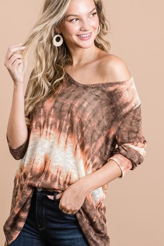 Autumn Leaves Knit Top