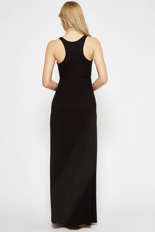 Bella Black Maxi Dress