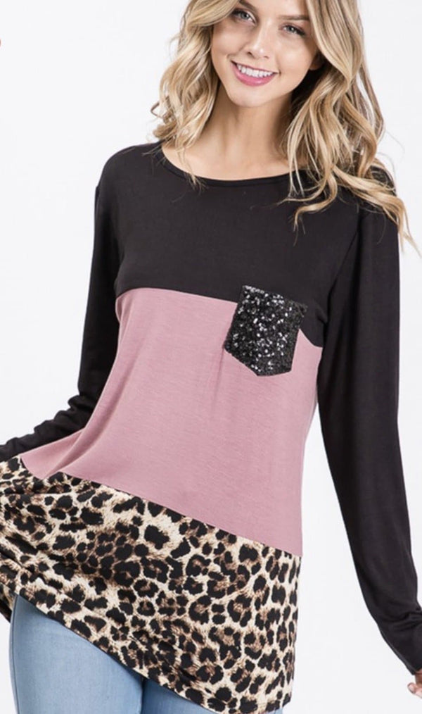 Wild Thing Colorblock Top