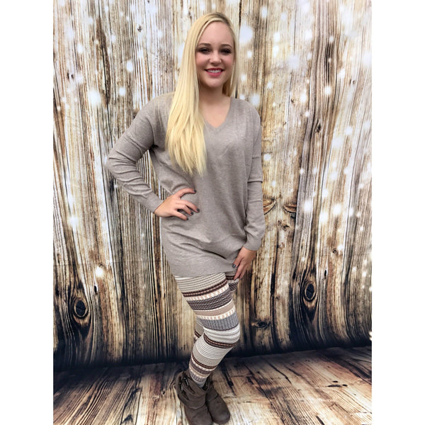 Sugar and Spice Sweater and Leggings Set - Trophy Wife Boutique