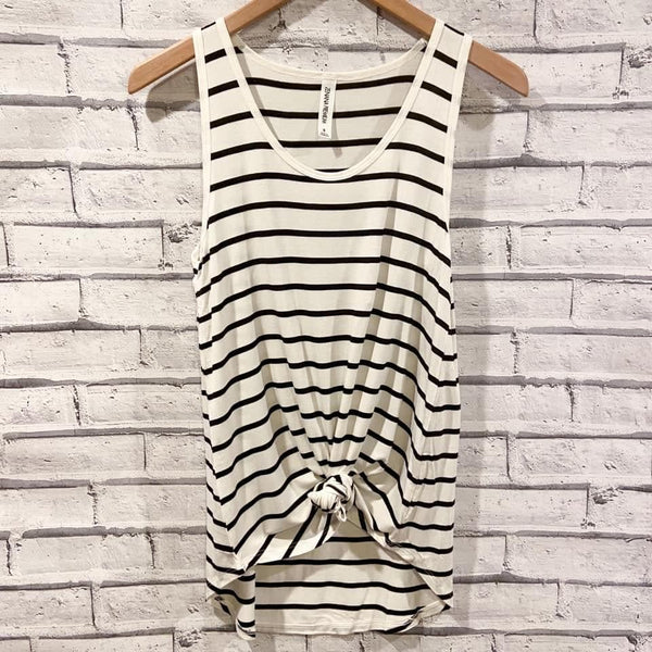 Perfect Striped Tank - Trophy Wife Boutique