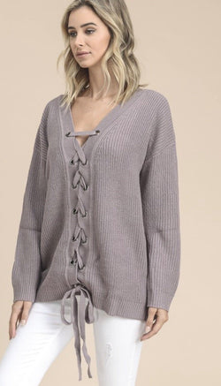 Favorite Girl Sweater - Trophy Wife Boutique