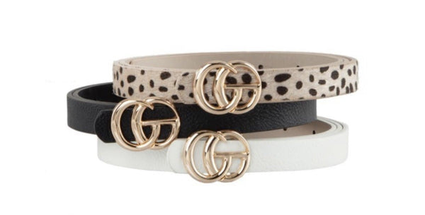 Belt Trio Sets - Leopard